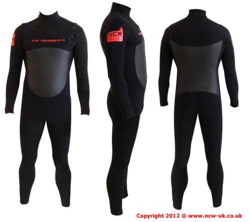 qualità GBS Cuciture Taglia MST 5//3 Mini Anteriore Zip Invernale Steamer Surf Muta