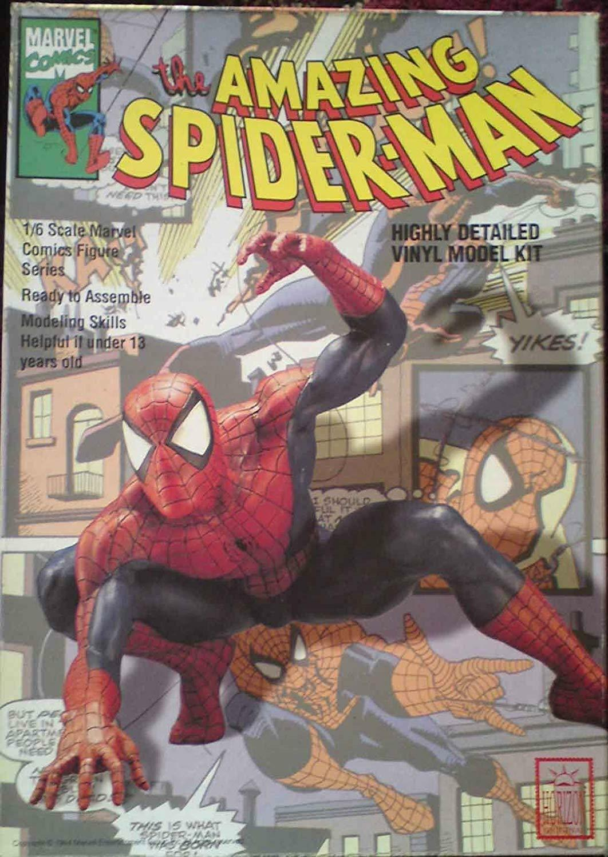 Horizon MARVEL THE AMAZING SPIDER-MAN 1 6 SCALA VINILE KIT 1993
