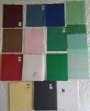 """Lot of 103 Plastic Canvas Needlepoint Sheets Darice QuickCount 7 Mesh 10½""""x13½"""""""