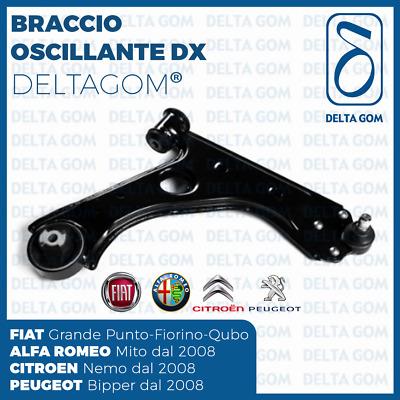 BRACCIO TRAPEZIO SOSPENSIONE DESTRO FIAT GRANDE PUNTO EVO ALFA MITO DAL 2008 />
