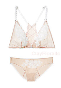 2524910fec Image is loading Victoria-039-s-Secret-Dream-Angel-Embroidered-Bralette-