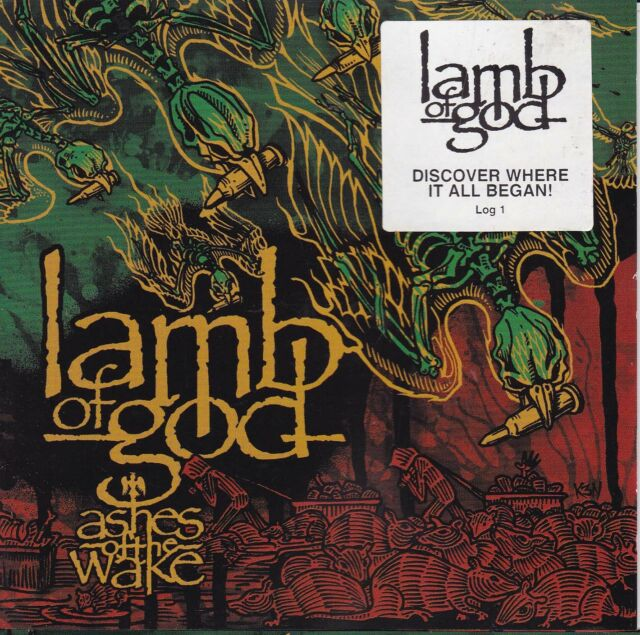 LAMB OF GOD Ashes Of The Wake CD - New
