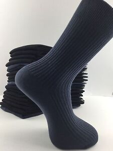 Homme Chaussettes Taille 11 12 13 14 Big Foot 100/% coton