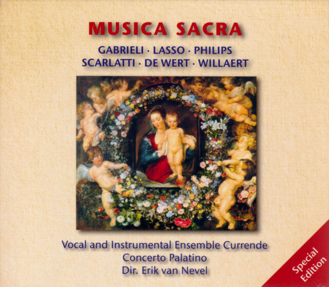MUSICA SACRA Erik van Nevel,  Ensemble Currende, Concerto Palatino, 5 CDs