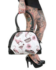 Liquor Brand Vegas Punk Rockabilly Tattoo Retro Goth Bowling Bag Purse B-OBW-048