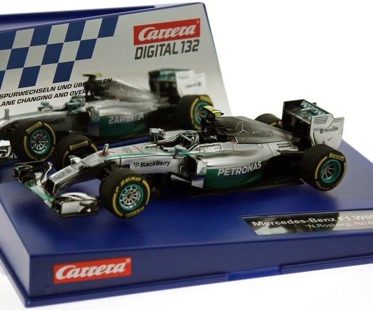 Carrera 30732 Digital Mercedes-Benz F1 W05 Hybrid Nico Rosberg Slot Car 1 32