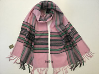 J.crew Plaid Scarf Color: Heather Blossom Forest Made In Italy