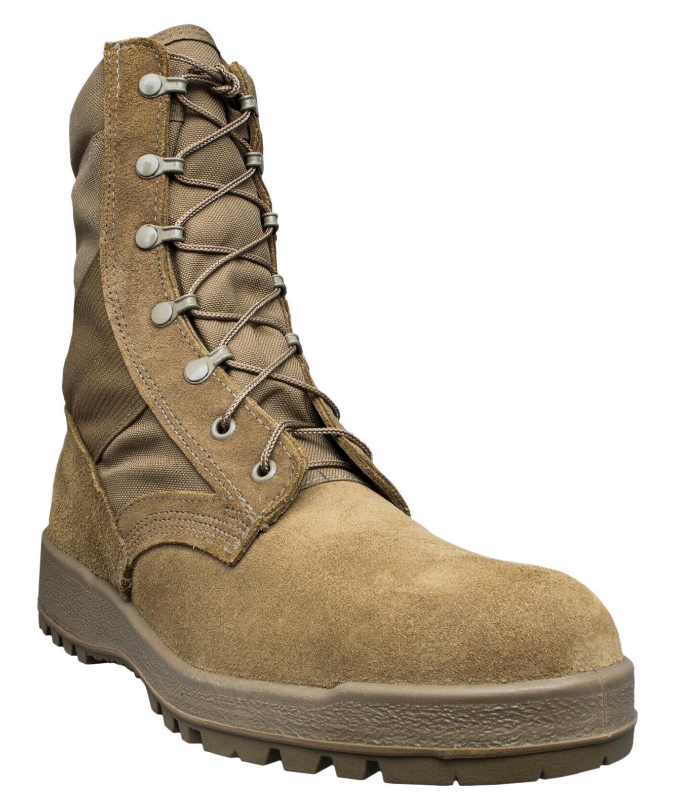 McRae Footwear 8189 Mil-Spec Hot Weather Coyote Boot w/ Vibram Vibram w/ Sierra Outsole 313b7c