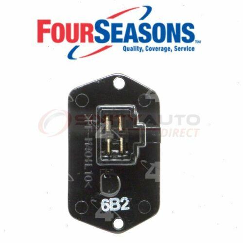 hc Four Seasons HVAC Blower Motor Resistor for 1995-2004 Toyota Tacoma
