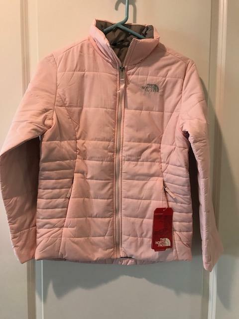 63029db23 BRAND Girls 100 Authentic The North Face Harway Jacket Purdy Pink Large L
