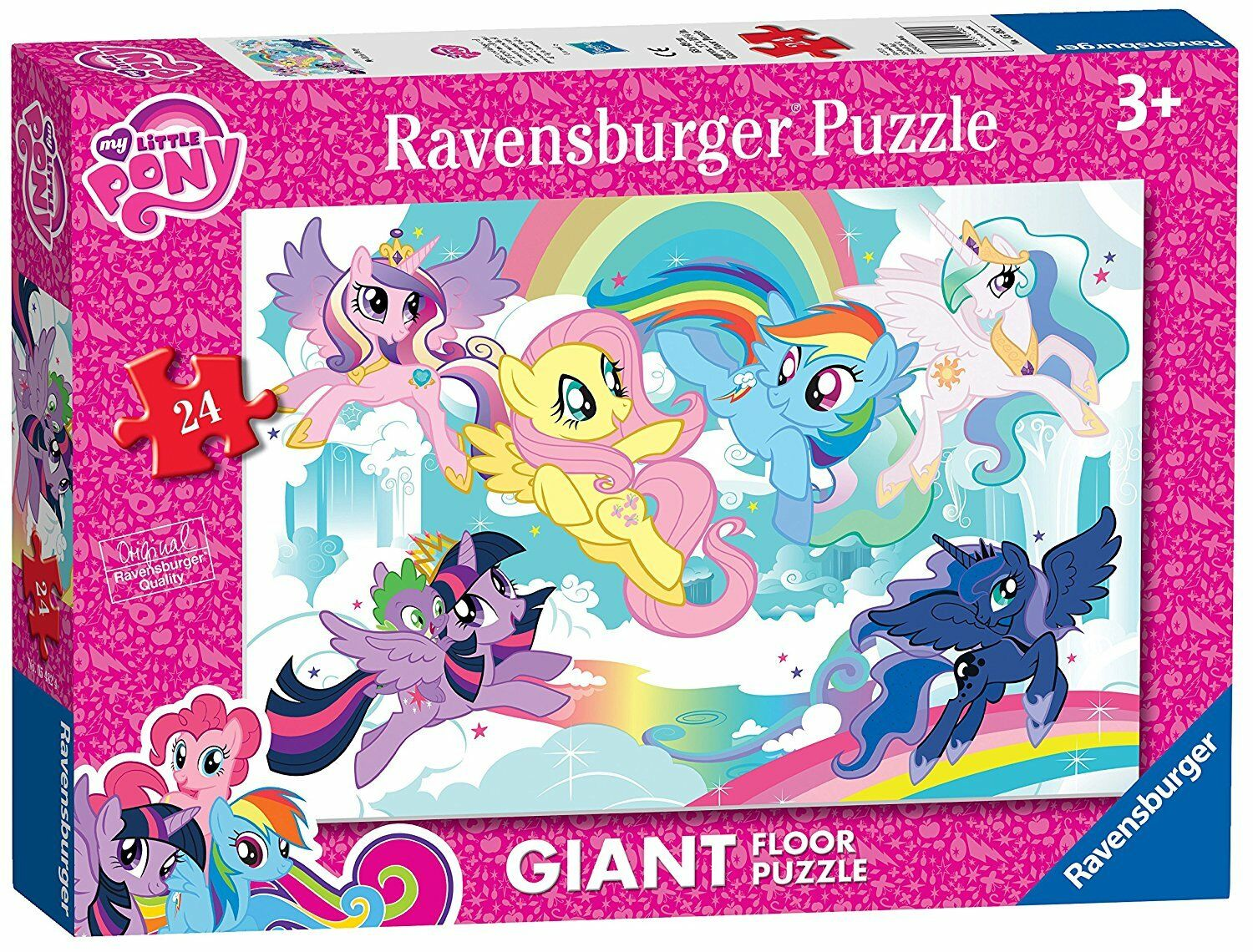 My Little Pony Giant Puzzle Floor Puzzle Giant 24 pièces Ravensburger Jigsaw 3db14b