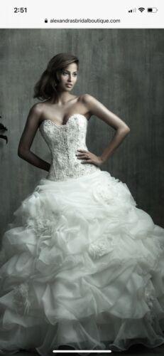 Allure Couture Bridal C170 Organza Formal Wedding