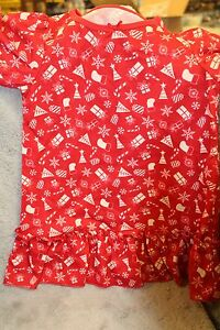 "NEW Carter's ""Just One You"" Baby Girls 2T Christmas Pajamas PJs Nightgown"