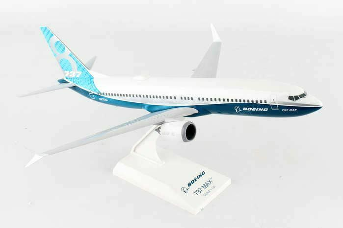 SKR935 Skymarks Boeing House 737 -MAX8 1 130 Förlaga flygagagplan