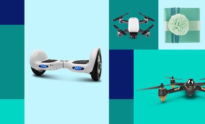 Drones y hoverboards