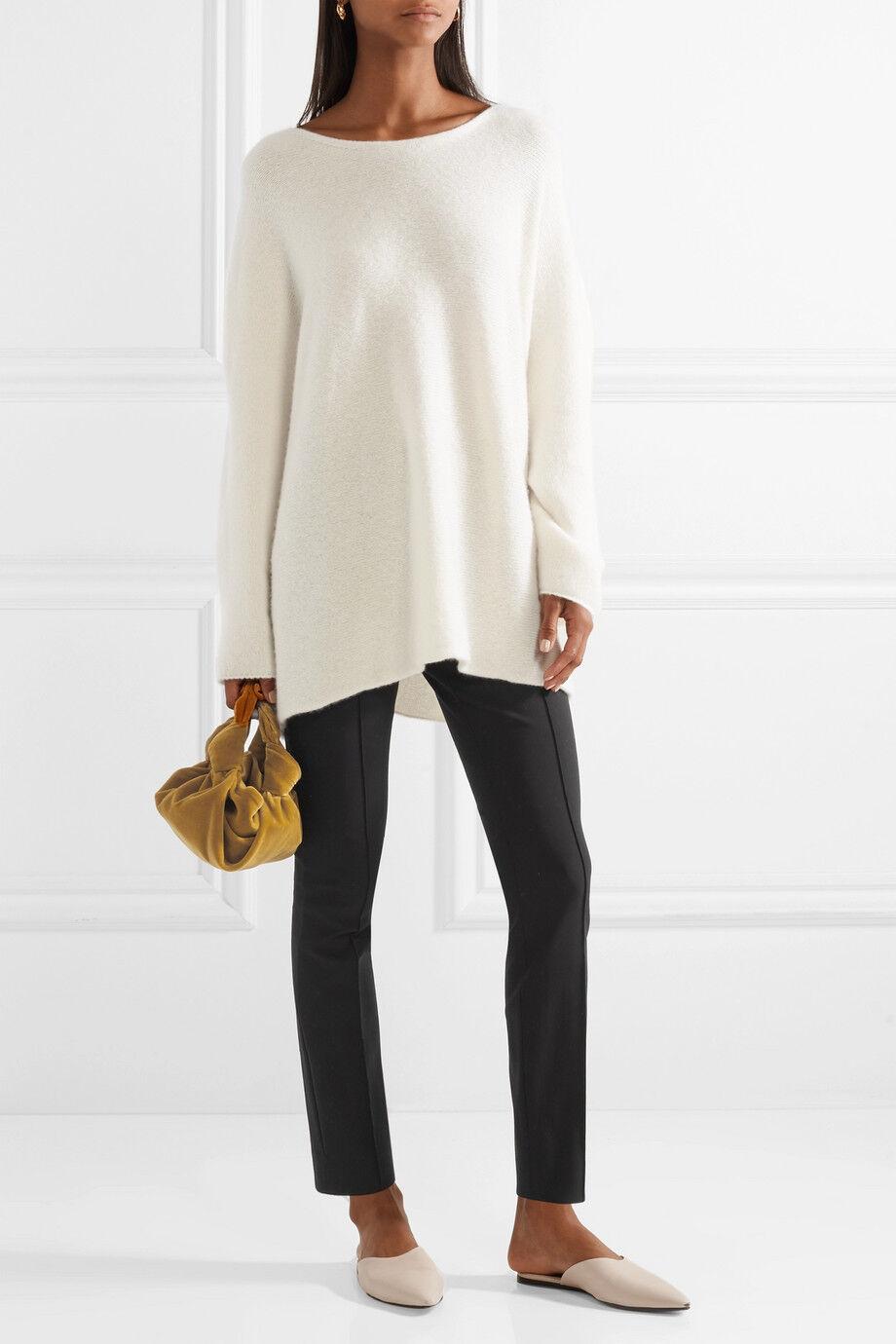 Nuevo  650 la  fila Cosso Mezcla de Algodón Pantalones en Negro Talla 4 S  tienda de bajo costo