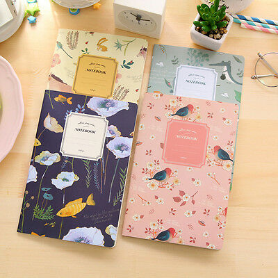 Cute Nature Animal Plant A5 Notebook 32 Page Notepad Diary Journal Office School