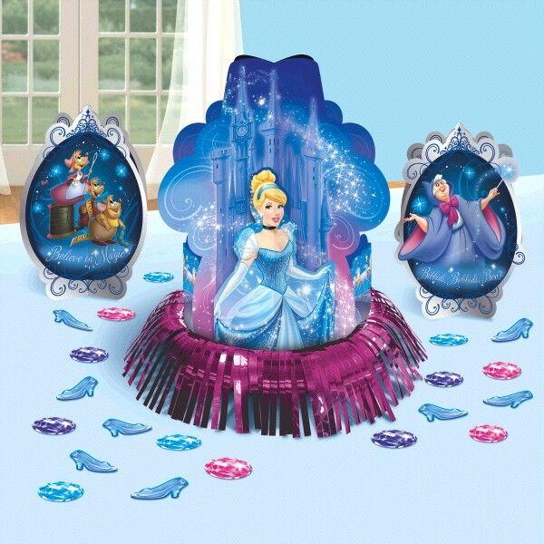 Disney Princess Cinderella Birthday Party Supplies TABLE DECORATING KIT
