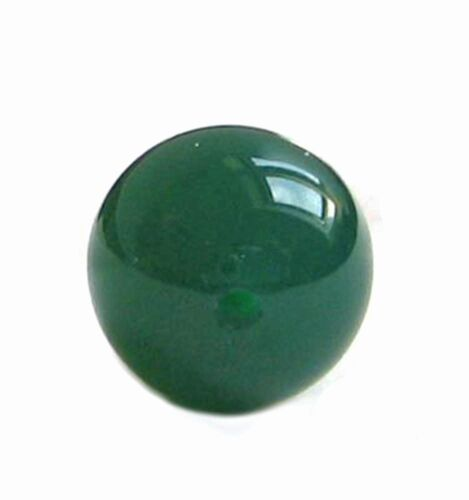 1 Pair Agate Green Ball Drilled Jewelry Making Precious Stone Jewellery