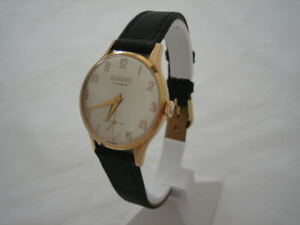 NOS-NEW-VINTAGE-SWISS-MECHANICAL-HAND-WINDING-ANALOG-CLASSIC-WOMEN-039-S-WATCH-1960-039