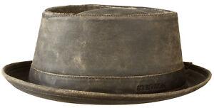 356ec7afd15 Stetson Sun Guard Vintage Pork Pie Player Hat Hats Odenton 6 Brown ...