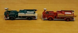 HALLMARK-2004-AMERICAN-LAFRANCE-700-SERIES-PUMPER-RED-AND-KOC-EXCL-GREEN-REPAINT