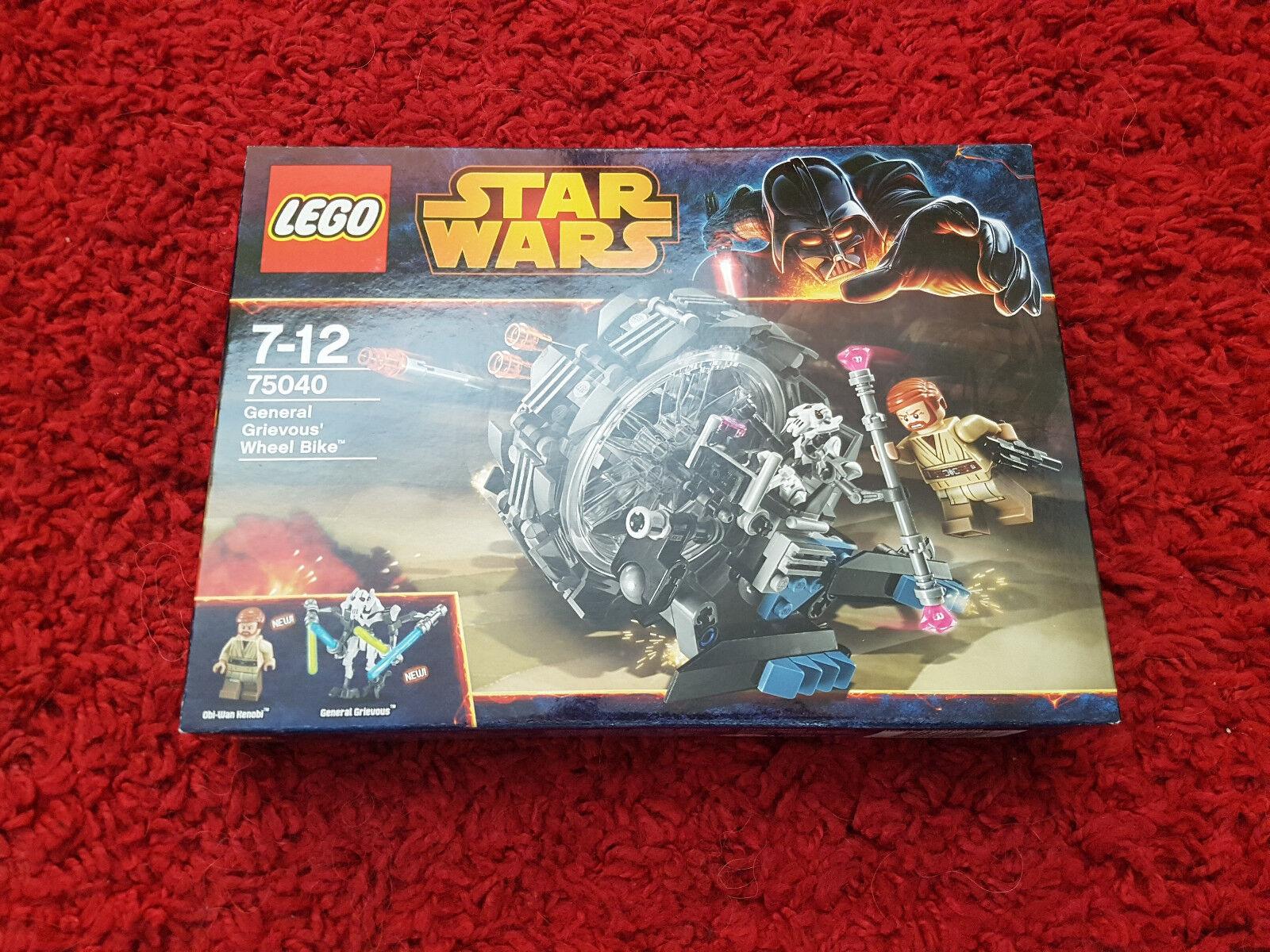 LEGO Star Wars 75040 Generale Grievous Wheel Bike  vedi foto