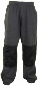 Click-Grey-Jogging-Bottoms-with-Knee-Pad-Pockets-Work-Trousers-Pants-Comfortable