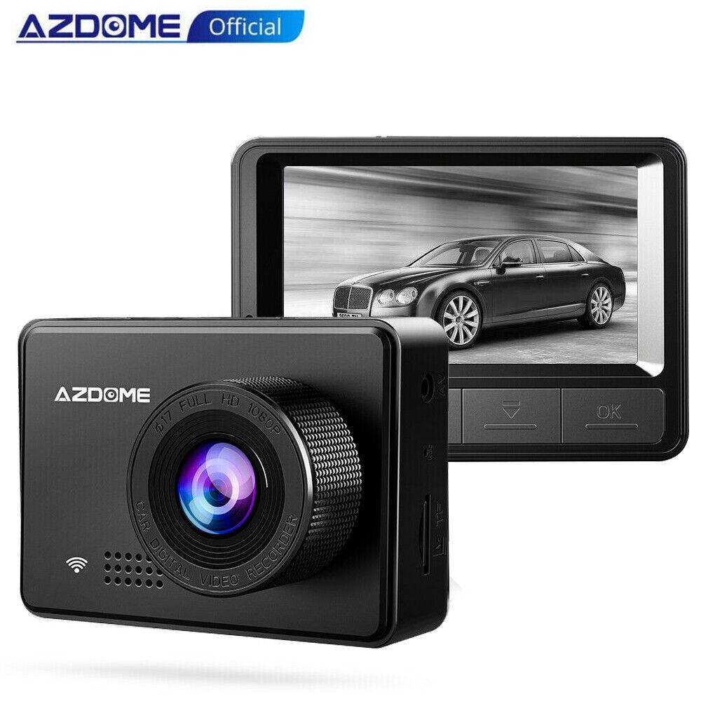 AZDOME 1080P Car Dash Camera  Car Video Recorder Night Vision Camera DVR Cams 1080p azdome camera car dash dvr Featured night recorder video vision