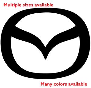 Mazda-Die-Cut-Decal-Emblem-logo-center-cap-stickers