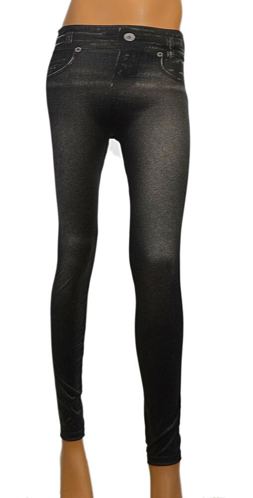 3x Zlimmy Jeggings Slim Fit Treggings Jeans Optique Body Former Shapewear