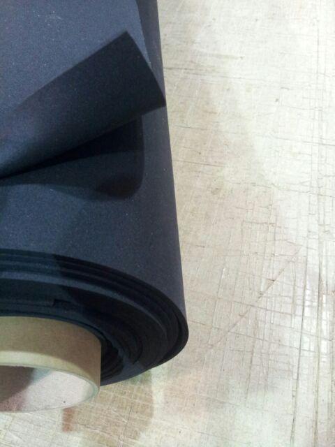 Neoprene Foam Sheet Plain Backed Van Padding Sound Insulation {NEF12-1.0} {1}