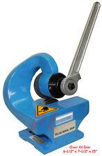 2mm THROATLESS ROTARY SHEAR PLATE CUTTER Cutting Sheet Metal * FREE SHIPPING*