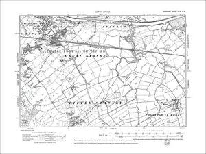 Ellesmere Port S Whitby E old map Cheshire 1912 31NE eBay