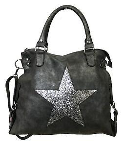 femme Glitter Nouveau Sac Top Star Handle Star pour Brillant Shopper Fashion SdqaSt