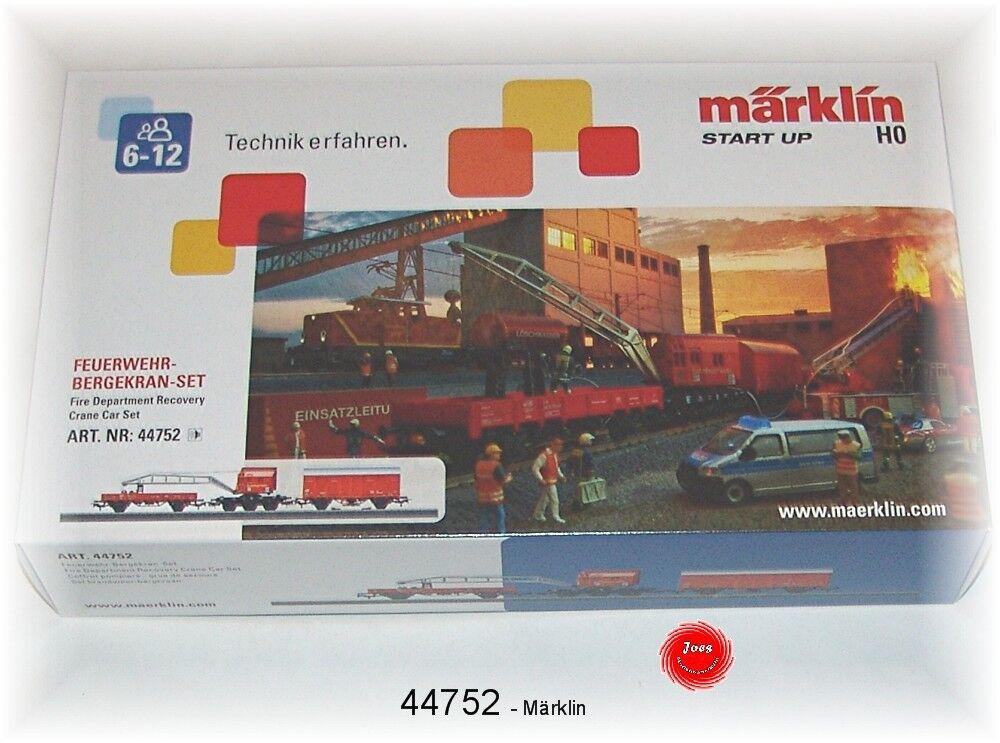 44752 Set Vagone Gru Pompieri Adatto a 29752   Nuovo in Scatola