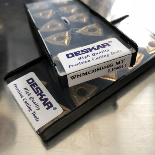 DESKAR 10pcs WNMG080408-MT LF9011 WNMG432-MT FOR steel stainless steel cast iron