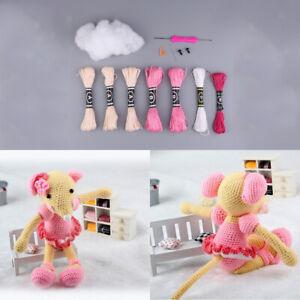 DIY Crochet Hippo and Giraffe Amigurumi   UsefulDIY.com   300x300