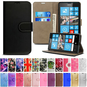 Case-For-Microsoft-Lumia-640-532-535-630-635-520-530-Leather-Flip-Wallet-Cover