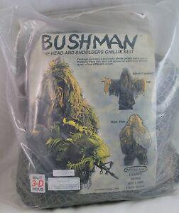 Ghillie-Jacket-Kit-Woodland-Camouflage-Bushman-BM880-X-Large-XX-Large