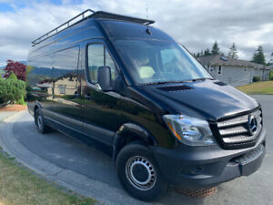 Luxury Mercedes Sprinter van conversion