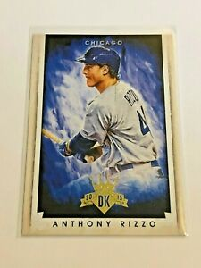 2015-Panini-Diamond-Kings-Baseball-Base-Card-Anthony-Rizzo-Chicago-Cubs