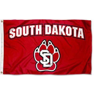 USD Coyotes Flag Double Sided 2-Ply 3x5 Foot Outdoor Banner