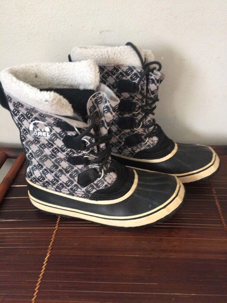 Sorel Tivoli Impermeable para Botas altas de lana para Impermeable mujer cuadros Zinfandel rojo be8512