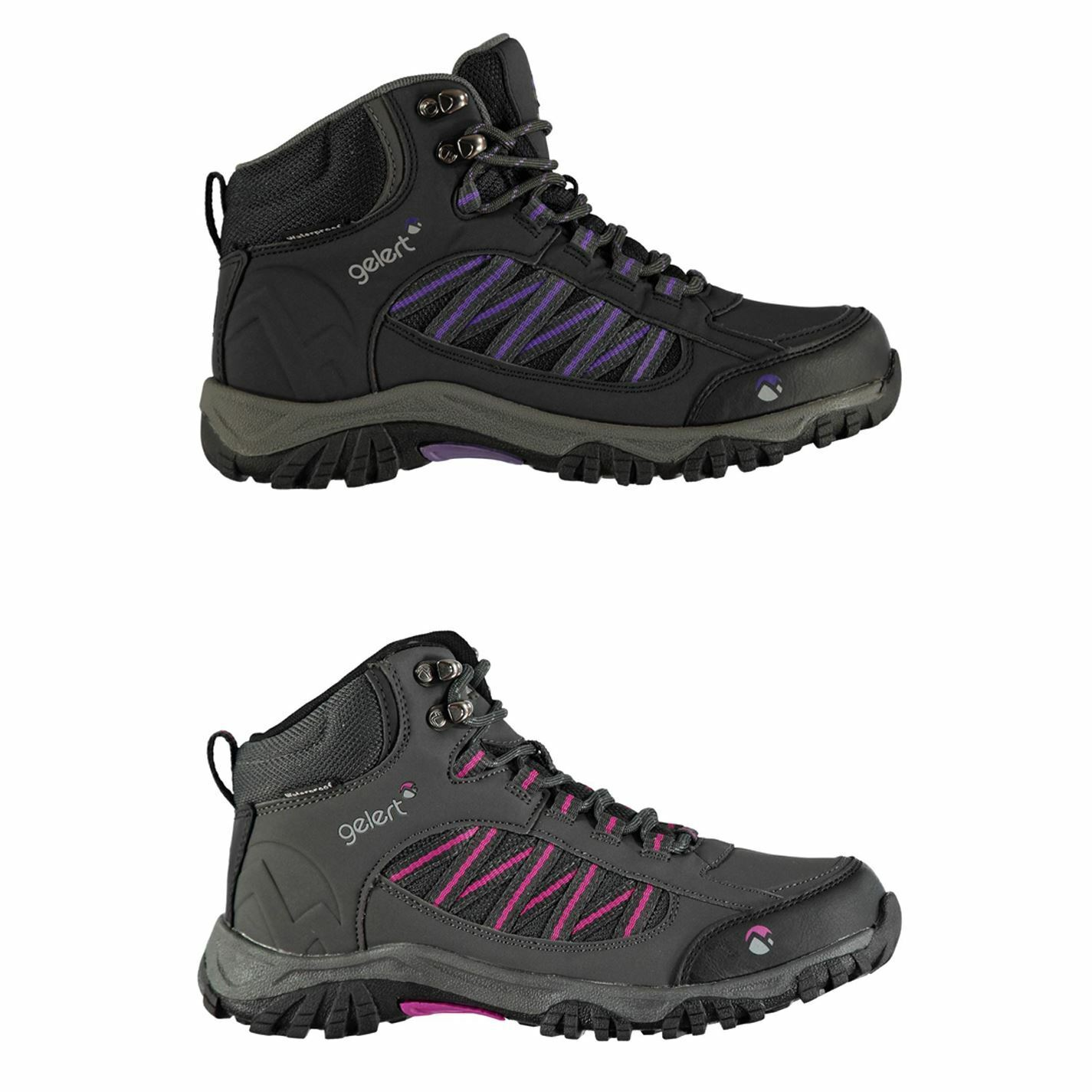 Gelert Horizon Mid Waterproof Walking Stiefel daSie Hiking Trekking schuhe