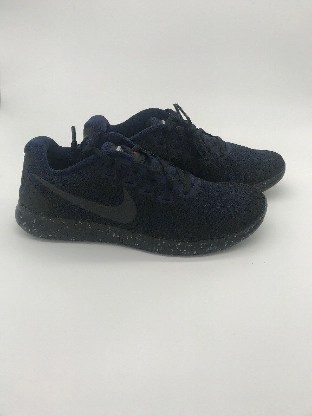 Nike Free RN RN RN 2017 Shield AA3760-001 Triple Black Obsidian Running Men's Size 8.5 1d0f74