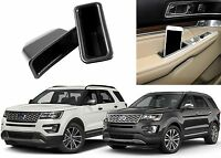 Lh & Rh Door Panel Insert Trays For 2016-2017 Ford Explorer Free Shipping