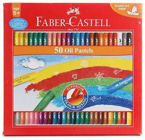 50 x Faber-Castell Oil Pastels Set Oil Pastel Crayons