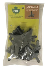 516 Health T Maple Sap Tubing Tees Syrup Cdl Roth Sugar Bush 12 Pack