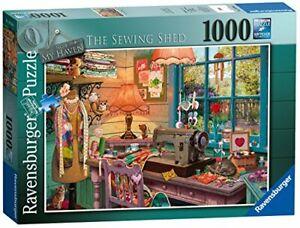 Ravensburger-Mon-paradis-N-4-LA-COUTURE-Shed-1000pc-Jigsaw-Puzzle-Collectible